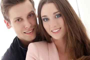 Beautiful, happy couple