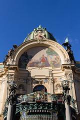 Historisches Gemeindehaus in Prag
