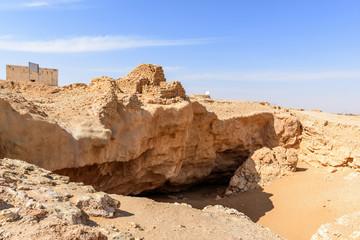 The ancient city of Ubar, Dhofar (Oman)