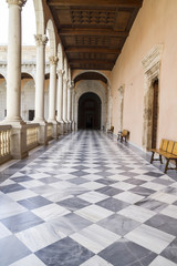 Fortification, Indoor palace, Alcazar de Toledo, Spain