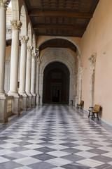 Indoor palace, Alcazar de Toledo, Spain