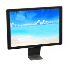 Monitor - 3d Render