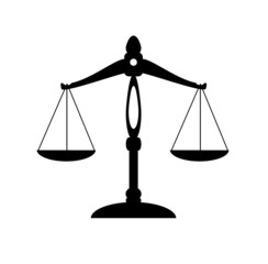 vector scale of justice