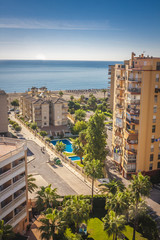 Area near the Malaga city,Spain