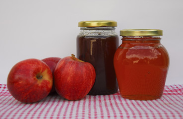 Apples & Apple jelly
