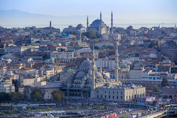 View of Old City Istanbul, Turkey