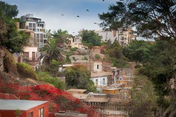 City view, Lima, Peru