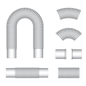 vector plumbing corrugated flexible tubes