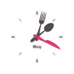 food time knife fork spoon