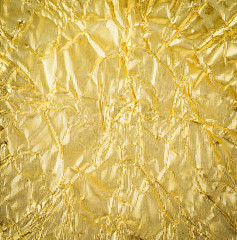 gold paper crumpled texture background