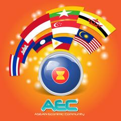 Asean Economic Community AEC concept 03