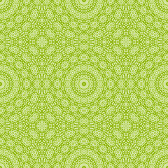 Background with green abstract pattern
