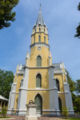 Church in Wat Niwet Thammaprawat