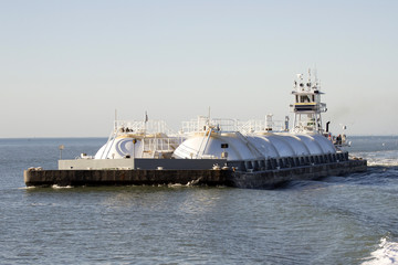 Oil and Gas Tanker Barge