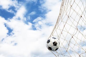 Fototapeta Soccer football Goal
