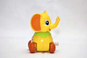 Clockwork toy elephant
