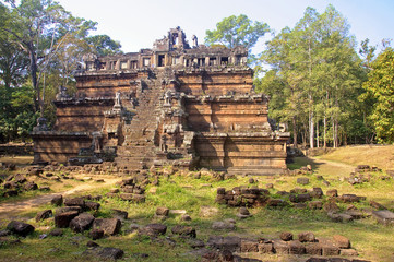 Phimeanakas in Angkor Wat complex