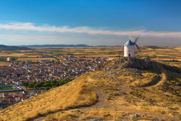 Windmills of Consuegra - La Mancha, Spain