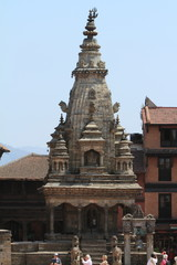 Tempelanlage Bhaktapur in Kathmandu Nepal