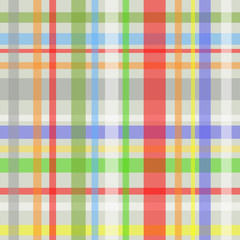 Seamless plaid pattern-grey