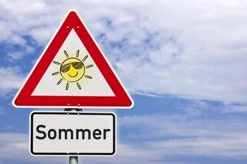 Schild Sommer