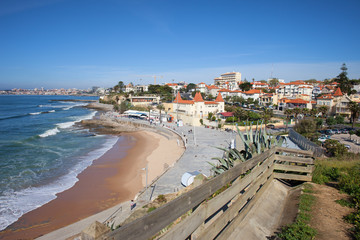 Estoril Beach in Portugal