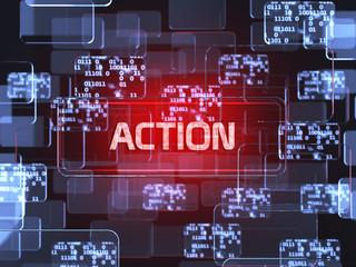 Action screen concept