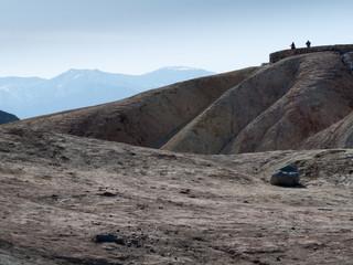 Observation point, Zabriskie Point, Death Valley National Park,