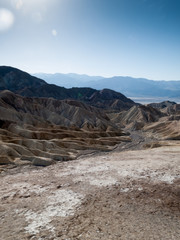 Furnace Creek, Zabriskie Point, Death Valley National Park, Cali