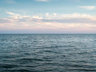 Panoramic view of sea