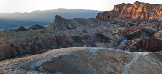 Manly Beacon, Zabriskie Point, Death Valley National Park, Calif