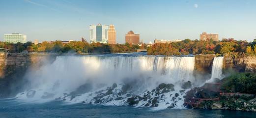 Waterfall, Horseshoe Falls, Niagara River, Niagara Falls, Ontari
