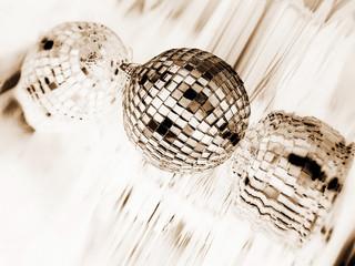 White Disco globe
