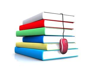 Internet education - concept