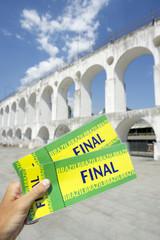 Brazil Final Tickets Lapa Arches Centro Rio de Janeiro