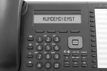 Kundendienst Telefon