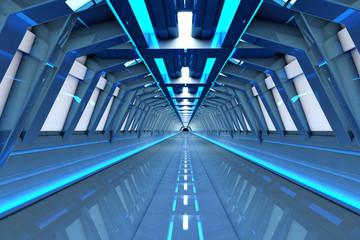 Raumschiff Korridor