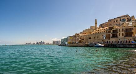 Jaffa and Tel-Aviv panorama