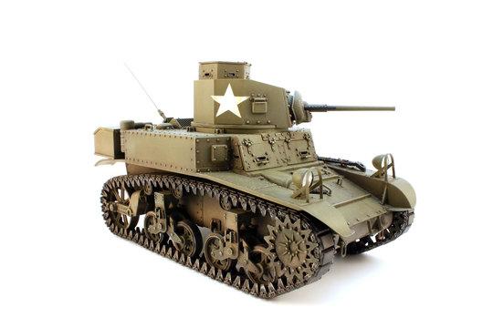 M3 light tank  3/4 view