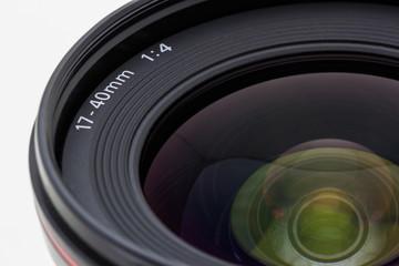 Photographic camera lens.