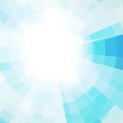 Blue sunlight