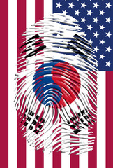South Korea USA Identity