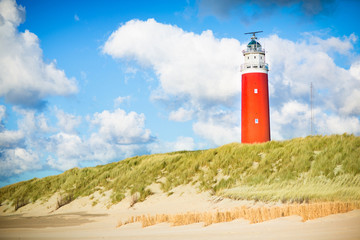 Texel lighthouse Wall mural