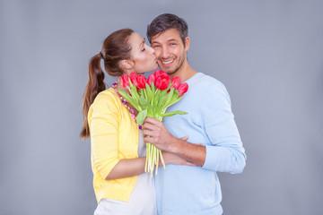 tulips couple