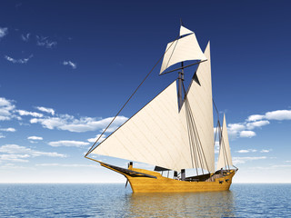 Caravel Ship