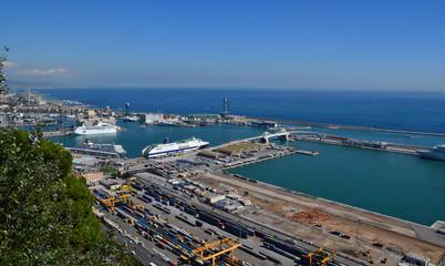 Port and sea