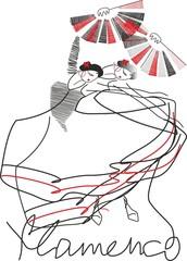 Fototapeta tancerki flamenco obraz