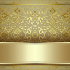 Elegant vintage background, holiday invitation