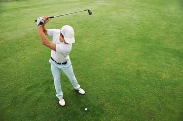 Foto op Aluminium Golf Golf shot
