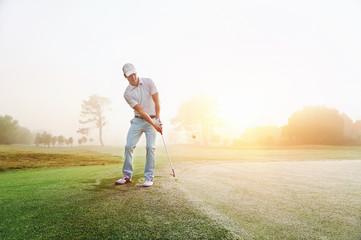 Poster Golf Chip shot golf